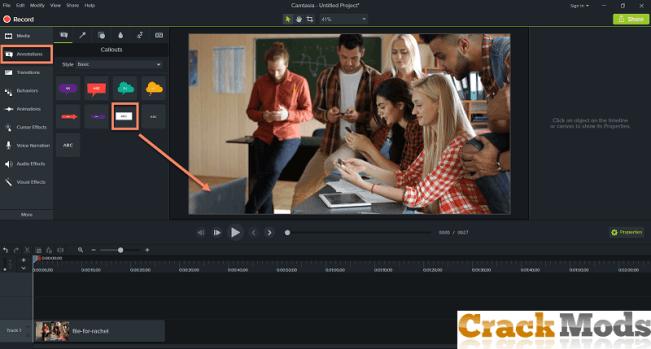 Camtasia Studio 2019.0.10 Crack + Serial Key Full Version 2020