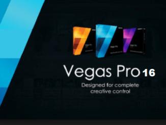MAGIX Vegas Pro 16 Cover