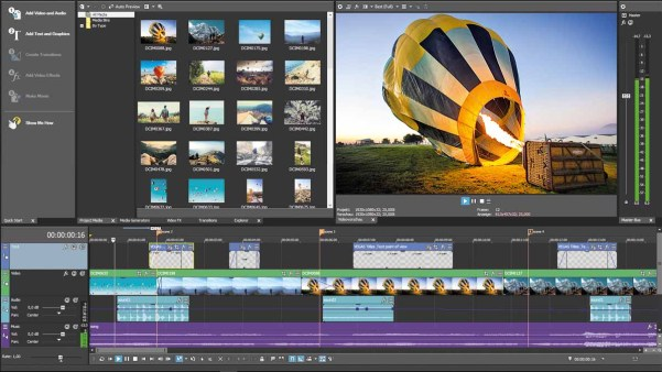 MAGIX VEGAS Movie Studio 15.0 Screenshot 2