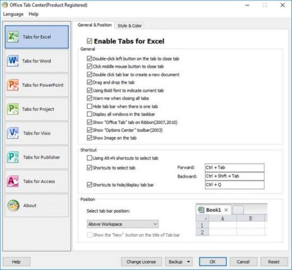Office Tab Enterprise Screenshot 2