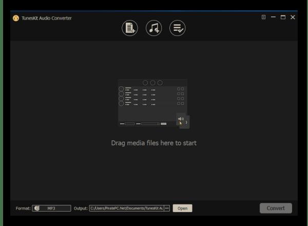 TunesKit DRM Audio Converter 2.1 Screenshot 2