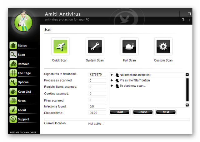 Netgate Amiti Antivirus 25.0.560 Crack + Serial Key Free Download 2020