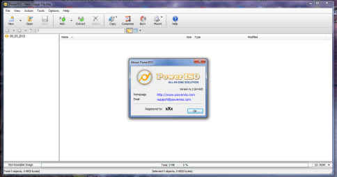 PowerISO Crack 7.4 Full Version License Key Screenshot 2