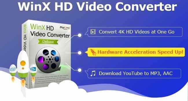 WinX HD VideoConverter Delux Crack
