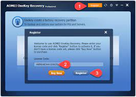AOMEI OneKey Recovery Crack