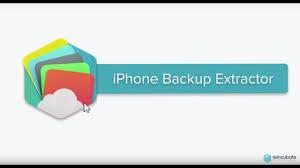 iPhone Backup Extractor 7.6.6.1521 Crack