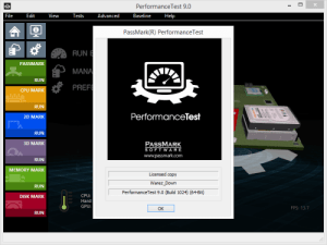 PassMark PerformanceTest 10.0 Build 1006 Crack