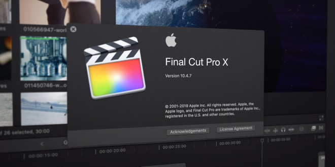 Final Cut Pro 10.4.8 Full Crack + Torrent [Latest]