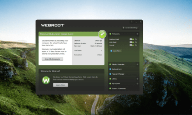 Webroot SecureAnyWhere Antivirus 2021 Crack (Full + Lifetime)
