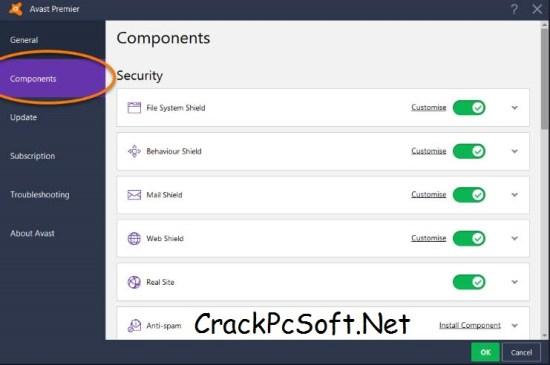 Avast Premier 2018 Crack