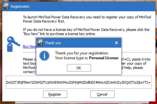 MiniTool Power Data Recovery 7.5 Serial Key
