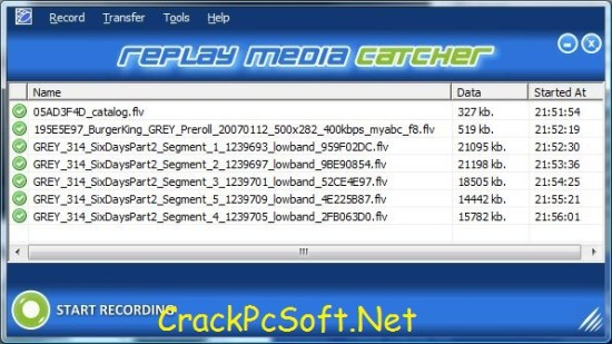 Replay Media Catcher Serial Key