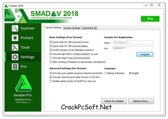 Smadav Antivirus PRO 2018 Crack