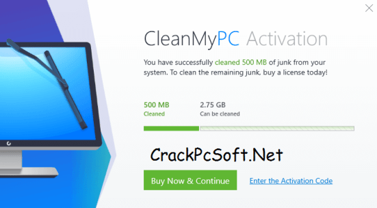CleanMyPC Activation Code 2018