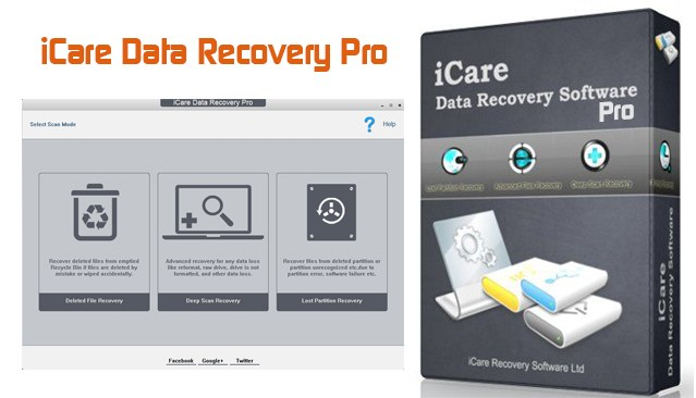 icare data recovery keys
