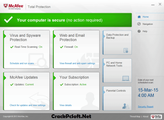 McAfee Total Protection 2018 Free Download
