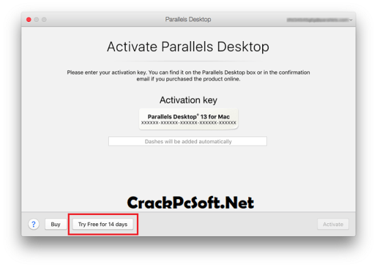 Parallels Desktop 13 Activation Key With Crack Download