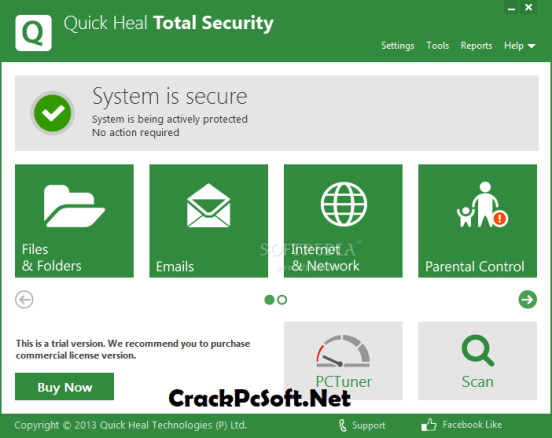 Quick Heal Total Security Product Key Generator