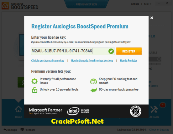 Auslogics BoostSpeed 10 License Key