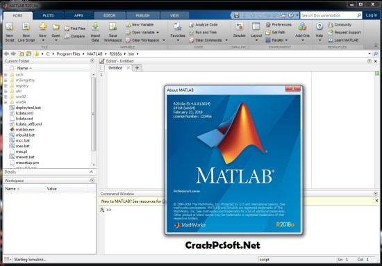 MATLAB 2018a Activation Key
