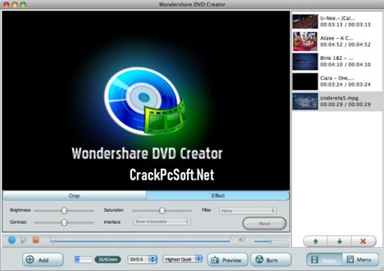 Wondershare DVD Creator Registration Code