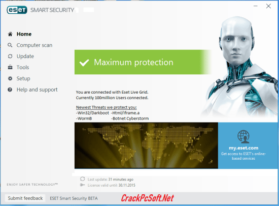 ESET Smart Security 2019 License Key