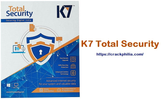 K7 Total Security 16.0.0333 Crack Plus Activation Key [Latest] Download