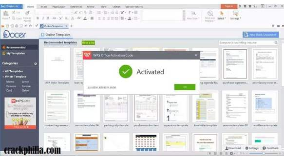 WPS Office v13.2.1 Crack With License Key Free Download 2021