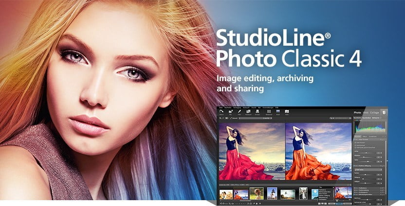 StudioLine Photo Classic 4.2.56 Crack Full Version 2020 Free Download