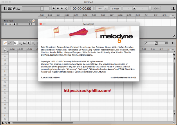 Melodyne 5 Crack v5.3 With Keygen Free Download 2021