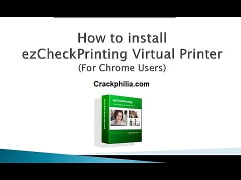 ezCheckPrinting 8.0.1 Crack With License Key Free Download 2021