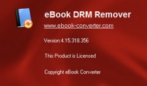 eBook DRM Removal Bundle 4.16. Crack Key Portable