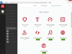Avira Security Suite 1.2
