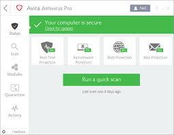 Avira Antivirus Pro 15.0.44.139 Crack