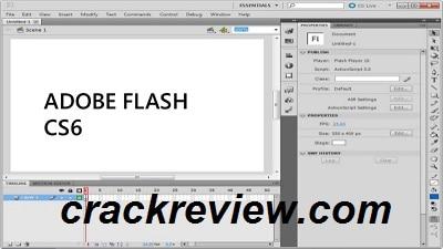 Download Adobe Flash CS6 Full Crack Full Version 2021
