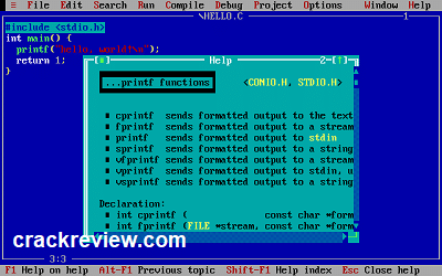 Turbo c++ 4.5 For Windows 10 Free Download