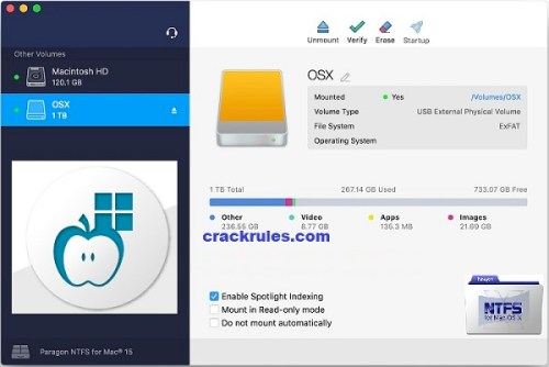 Paragon NTFS Crack 2022