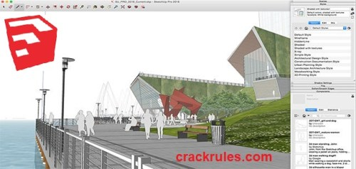 SketchUp Pro 2022 Cracked