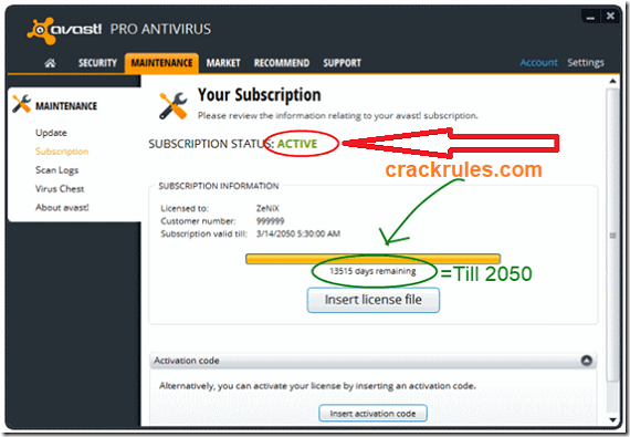 Avast Premier 19 6 4546 Crack With License Key [LifeTime