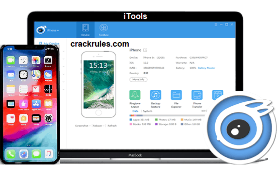iTools 4 4 4 3 Crack with License Key + Torrent {Mac/Win} 2019