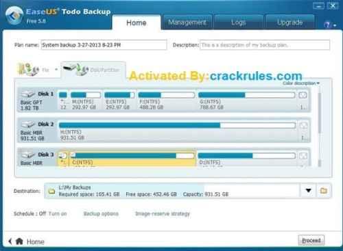 EaseUS Todo Backup Crack Download 2022