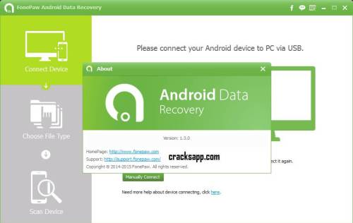 FonePaw Android Data Recovery 1.3 Serial Key Free Download