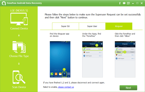 FonePaw Android Data Recovery 1.2.0 Crack Free Download