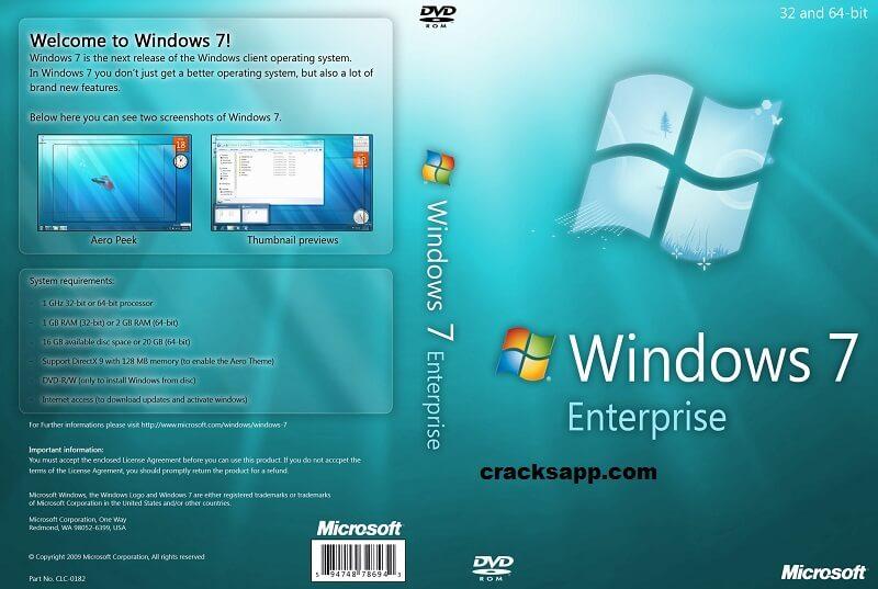 windows 7 enterprise product key crack