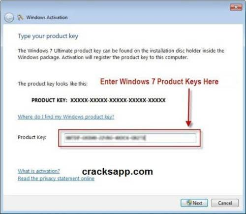 windows 7 ultimate os  with product key