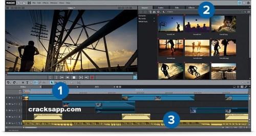 MAGIX Movie Edit 2016 Pro Crack Free Download