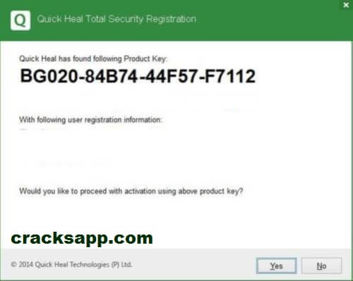 Quick Heal Total Security 2016 Product Key (32 & 64 bit) Free