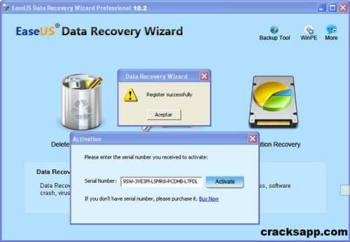 EaseUS Data Recovery Wizard Professional 10.2 Free Download