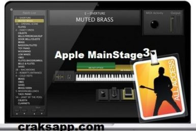 Apple MainStage 3 Crack + Serial Key Full Free Download
