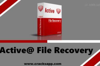 Active File Recovery 15.0.7 Key + Crack Keygen Download